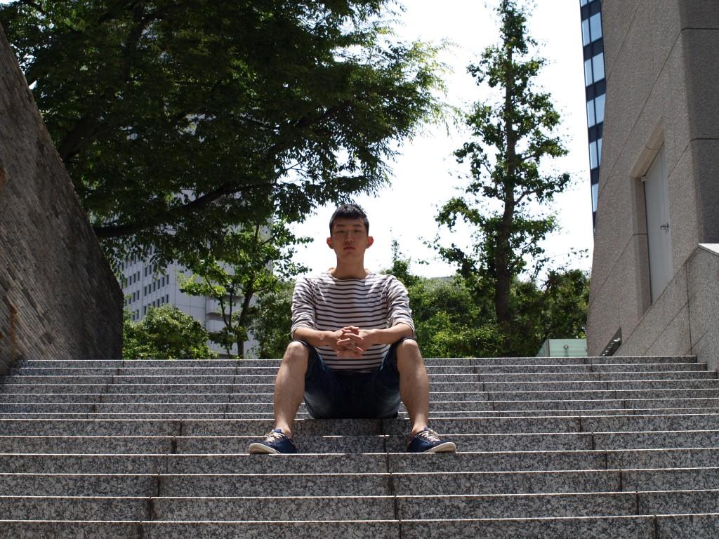 東京・西新宿にて撮影