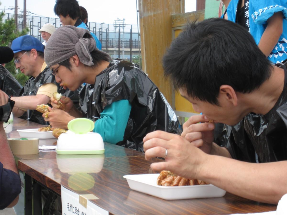 「毛がに」を日本一早く食べる方法